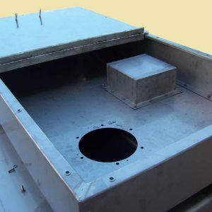Sheet Metal Laser Cutting - Water Tank 2