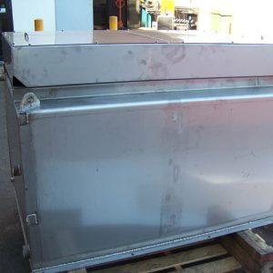 Sheet Metal Laser Cutting - Water Tank SS