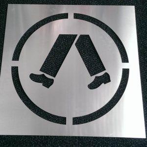 WCSM - Aluminium Stencil