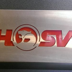 WCSM - HSV Stainless Steel Plate