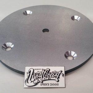WCSM - Laser Cut Disc With Machine Countersink Screw Holes