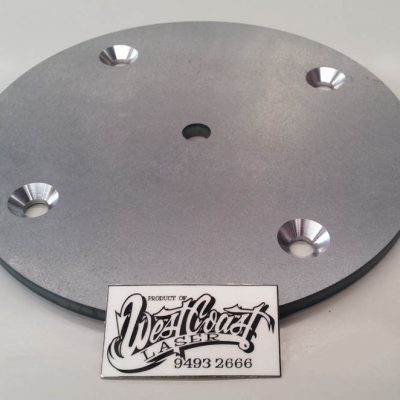 WCSM - Laser Cut Disc With Machine Countersink Screw Holes