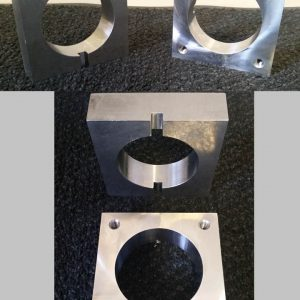 WCSM - Machined, Tapped & Slotted Mild Steel Steel Blocks